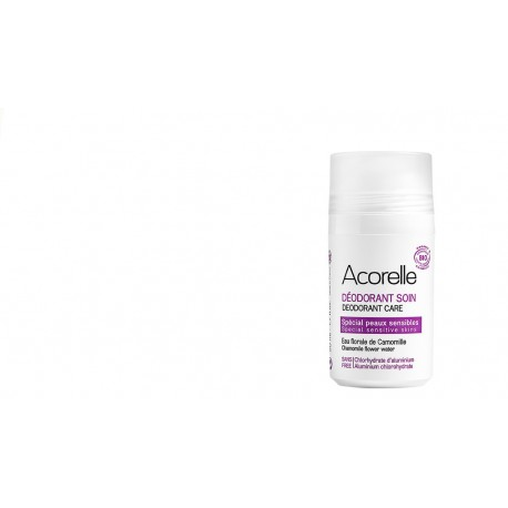 Déodorant roll on bio Acorelle peaux sensibles 50ml