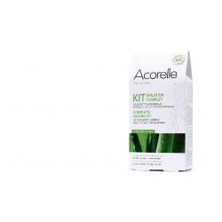 Kit épilation complète 32 Bande de cire froide Bio assorties Acorelle