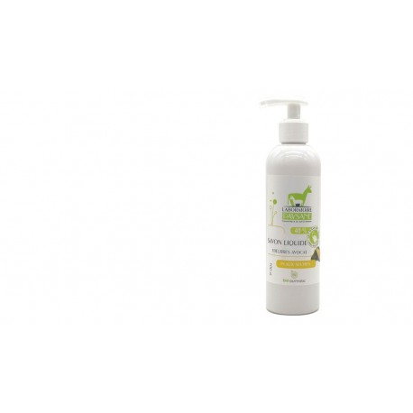 Savon liquide lait d'ânesse bio peau sèche 3 beurres 40%