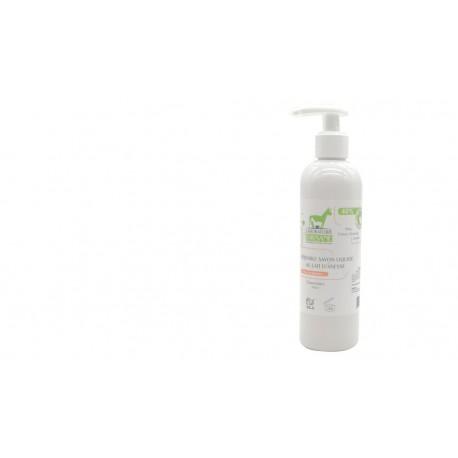Savon liquide peau acnéique 40% lait d'ânesse bio Laboratoire Paysane 300ml