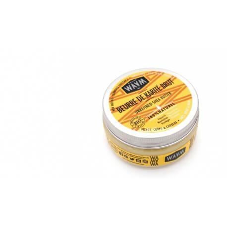 Beurre de karité brut WAAM 100% pure et végétale 100ml