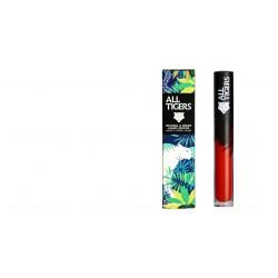 """Rouge à lèvres liquide vegan et naturel Rouge 888 """"CALL ME QUEEN"""" All Tiger"""