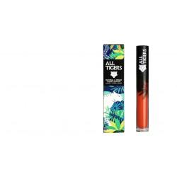 """Rouge à lèvres liquide vegan et naturel Orange Corail 785 """"HEAR MY ROAR"""" All Tiger"""