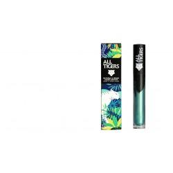 "Rouge à lèvres liquide vegan et naturel Green metal 989 ""STEAL THE SHOW"" All Tiger"