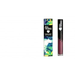 "Rouge à lèvres liquide vegan et naturel Violet 980 "" FEEL THE POWER"" All Tiger"