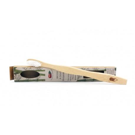 Brosse à dent en Bambou la savonnerie Aubergine