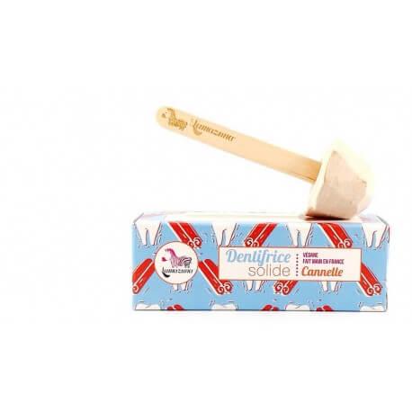 Dentifrice solide  à la cannelle Lamazuna 17g