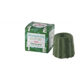 Shampoing solide Lamazuna cheveux gras herbes folles 55g