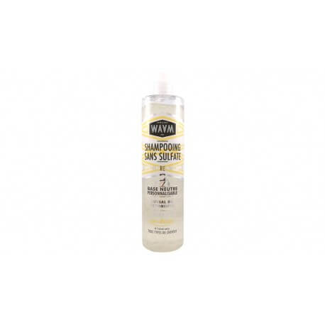 Base shampoing sans sulfate WAAM 400ml