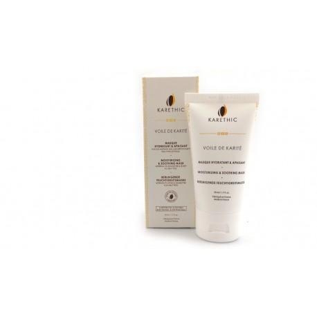 Masque Hydratant et Apaisant Voile de karité Karethic 50 ml
