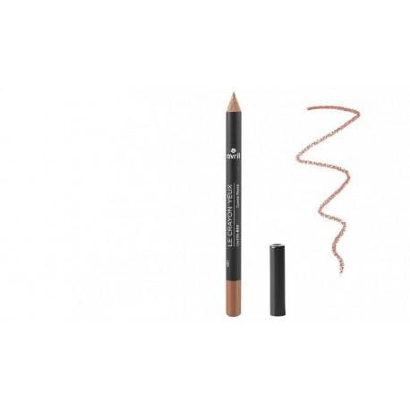 Avril crayon Cuivre Nacré certifié bio