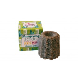 Shampoing solide Lamazuna pour cheveux gras 55g
