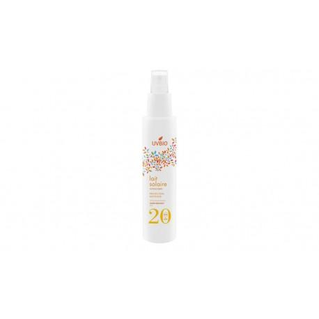 Spray solaire Bio spf 20 UVBIO 100ml