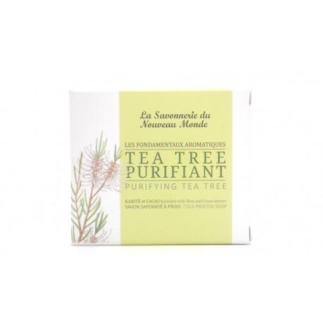 Savon Tea Tree Purifiant Savonnerie du nouveau monde 100g