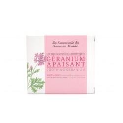 Savon Géranium Apaisant Savonnerie du nouveau monde 100g