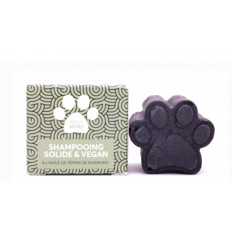 Shampoing solide poils noirs PEPET'S pour animaux