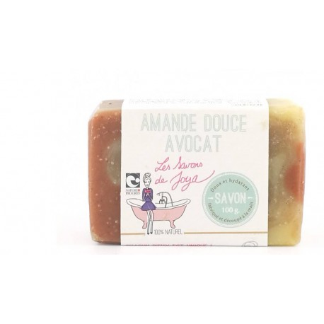 Savon Amande douce et Avocat Les savons de Joya 100g