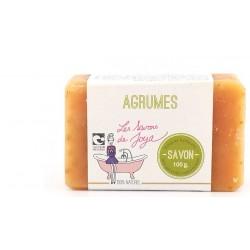 Savon aux agrumes Les savons de Joya 100g
