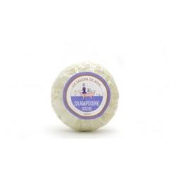 Shampoing bleu cheveux blancs gris ou blonds Les savons de Joya 75g