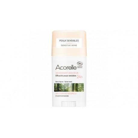Déodorant douceur bois d'épice bio 45g