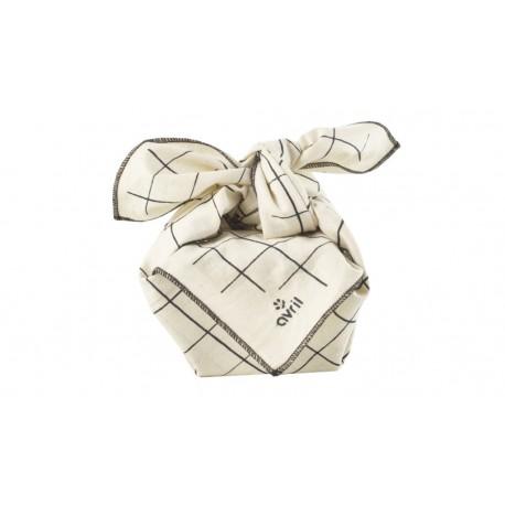 Furoshiki carreaux Avril