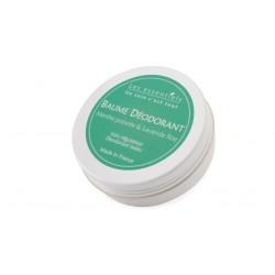 Baume déodorant Menthe poivrée et lavande les essentiels 60ml