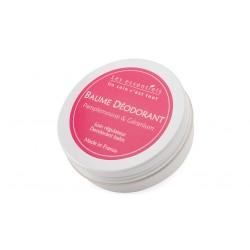 Baume déodorant Pamplemousse Géranium les essentiels 60ml