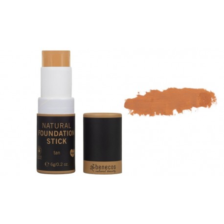Stick fond de teint Tan natural foundation Benecos 6g