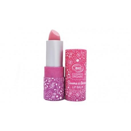 Baume à lèvres Bio teinté rosé léger Saveur Framboise Namaki