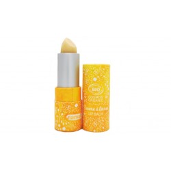 Baume à lèvres Bio brillant nacré Saveur Vanille Namaki