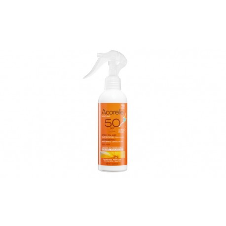 Spray protection solaire enfant bio Haute protection SPF 50 Acorelle 150ml