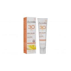 Crème solaire bio teintée Haute protection SPF 30 Acorelle 100ml