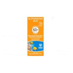 Crème protection solaire bio adulte très haute protection SPF 50+ Alphanova Sun 50g