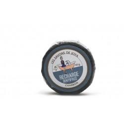 Recharge dentifrice solide au charbon les savons de Joya 40g
