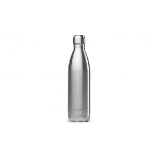 Bouteille isotherme chaud froid Originals Inox qwtech 750ml