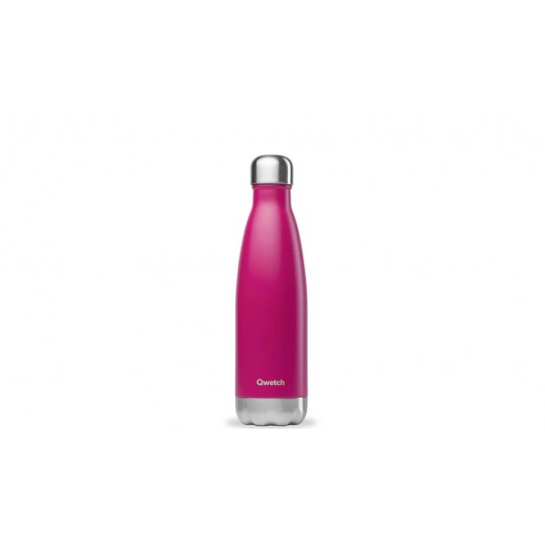 Bouteille isotherme chaud froid Originals Magenta qwtech 500ml
