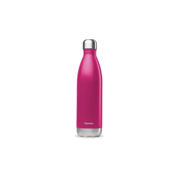 Bouteille isotherme chaud froid Originals Magenta qwtech 750ml