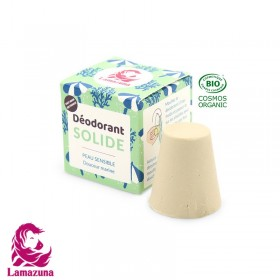 Déodorant solide Lamazuna peau sensible douceur marine 30ml