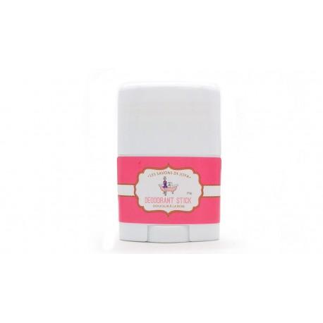 Déodorant en stick format mini rechargeable Lavande et palmarosa Les savons de Joya 25g