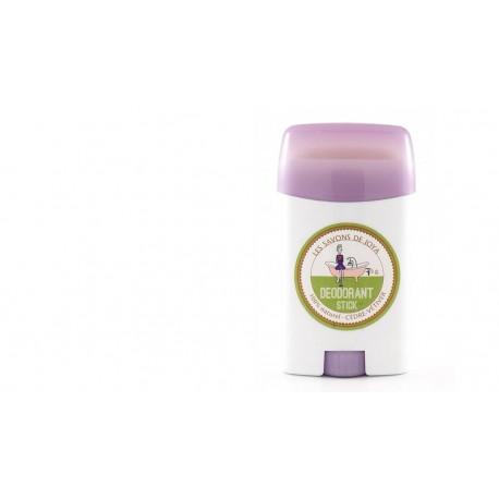 Déodorant en stick rechargeable en boîte cèdre et vétiver Les savons de Joya 55g