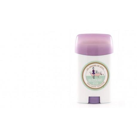 Déodorant en stick rechargeable sans bicarbonate Les savons de Joya 55g