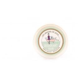 Recharge déodorant solide douceur sans bicarbonate Les savons de Joya 35g