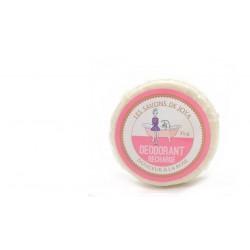 Recharge déodorant solide en boîte douceur à la rose Les savons de Joya 35g