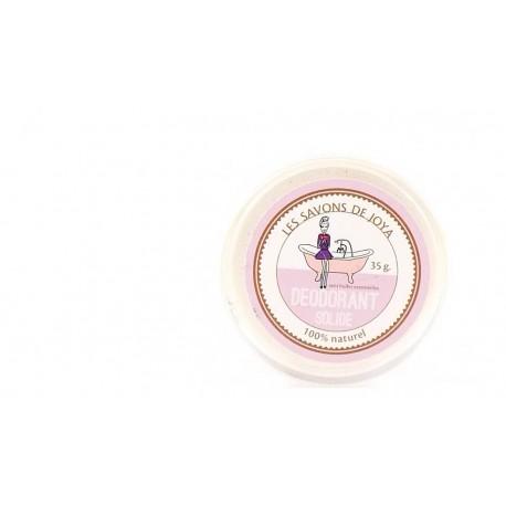 Déodorant solide sans huiles essentielles Les savons de Joya 35-45g