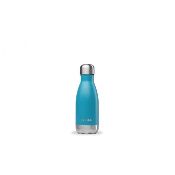 Bouteille isotherme chaud froid Originals Turquoise qwetch 260ml