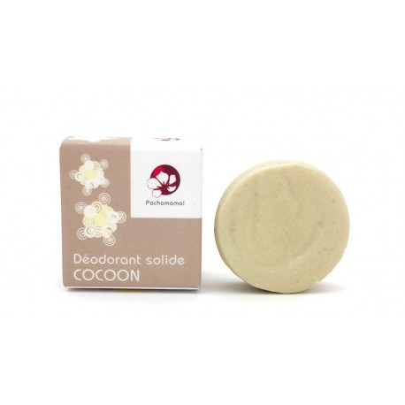 Déodorant solide Pachamamai Cocoon naturel et vegan 25g