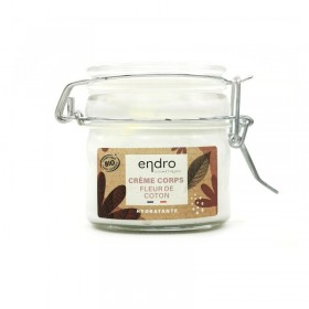 Crème corps fleur de coton hydratante Endro 100ml