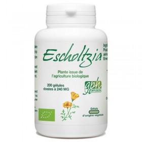Escholtzia Bio dosé à 240mg 200 gélules végétales Gph Diffusion
