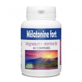 Mélatonine Fort magnésium et vitamine B6 30 comprimés Gph Diffusion