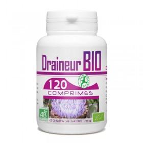 Draineur Bio artichaux, aubier de tilleul et radis noir 120 comprimés Bio atlantic